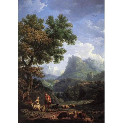 Shepherd in the Alps