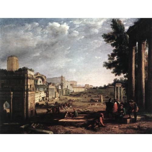 The Campo Vaccino Rome