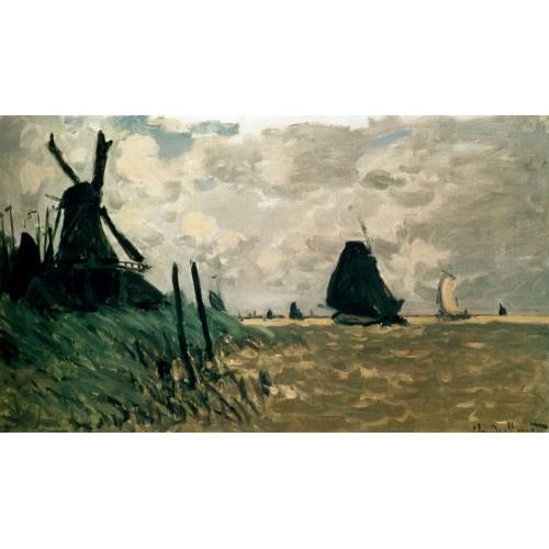 A windmill near zaandam