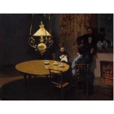 An Interior after Dinner