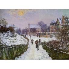 Boulevard St Denis Argenteuil Snow Effect