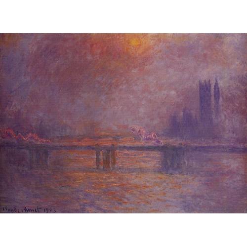 Charing Cross Bridge The Thames