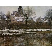Church at Vetheuil Snow