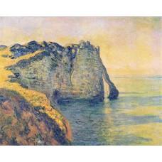 Cliffs of the porte d aval