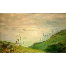 Cliffs walk at pourville