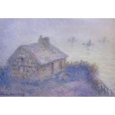 Customs House at Varengeville in the Fog
