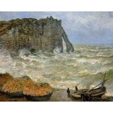 Etretat Rough Seas