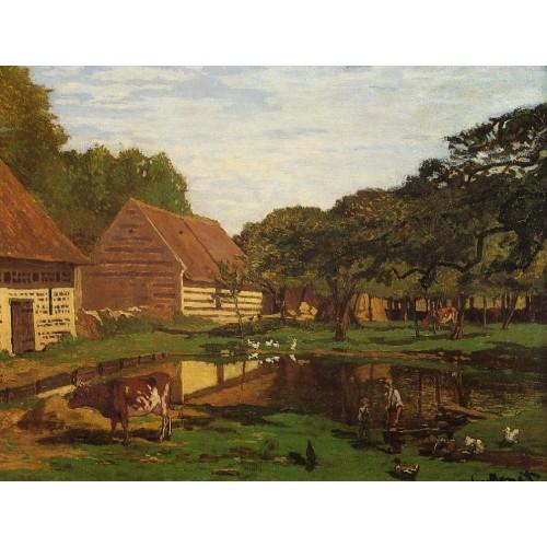 Farmyard in Normandy