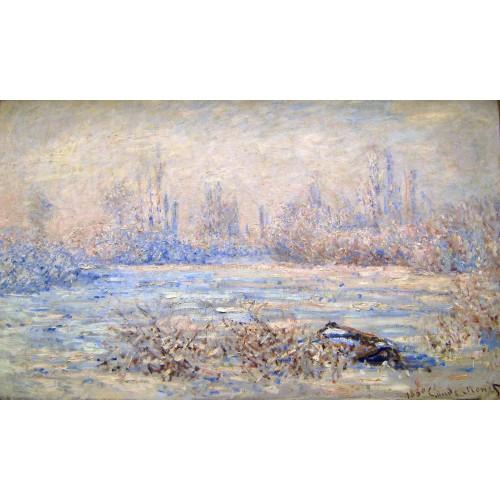 Frost near vetheuil