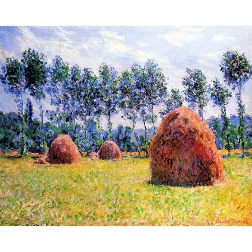 Haystacks at Giverny 1