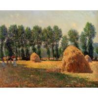 Haystacks at Giverny 2