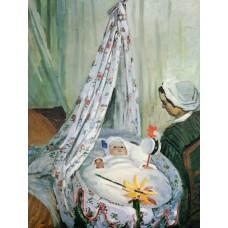 Jean Monet in His Cradle