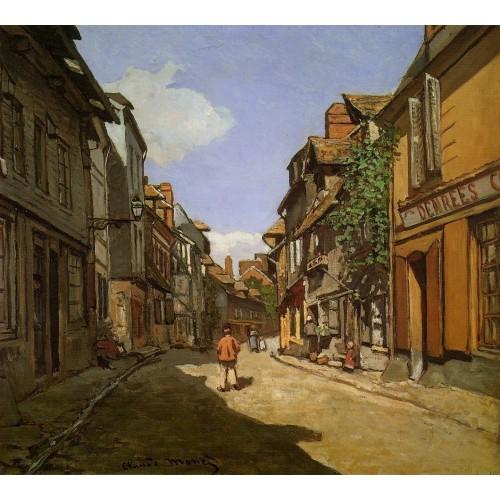 Le Rue de La Bavolle at Honfleur 1