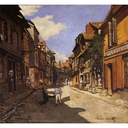 Le Rue de La Bavolle at Honfleur 2