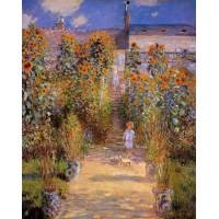 Monet's Garden at Vetheuil 2