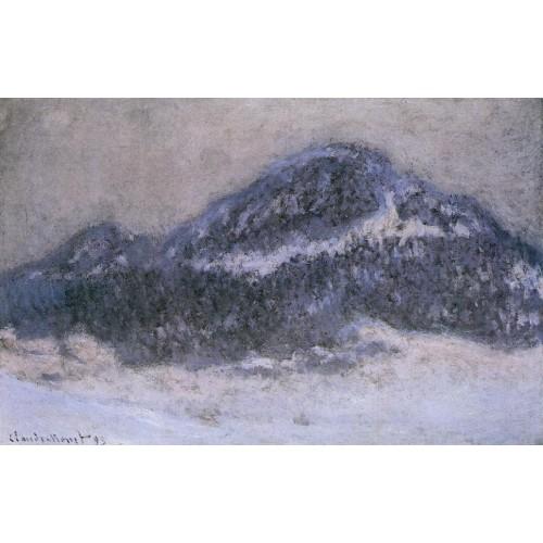 Mount Kolsaas in Misty Weather