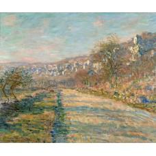 Road of la roche guyon