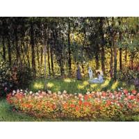 The Artist's Family in the Garden