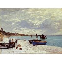The Beach at Sainte Adresse