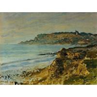 The Cliff at Sainte Adresse