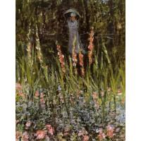 The Garden Gladioli