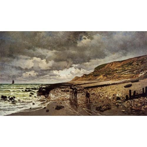 The Point de la Heve at Low Tide