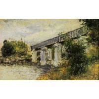 The Railway Bridge at Argenteuil 1