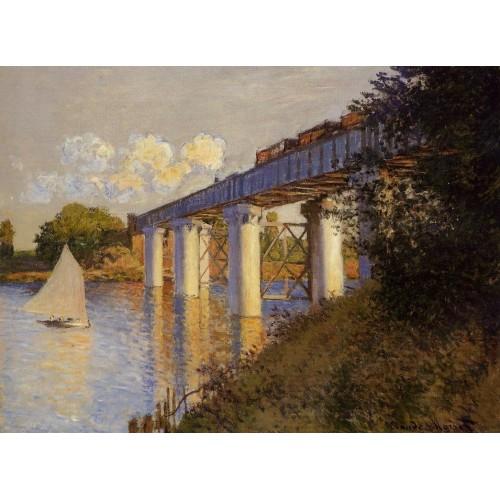 The Railway Bridge at Argenteuil 3