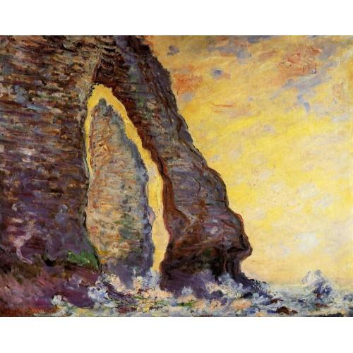 The Rock Needle Seen through the Porte d'Aval