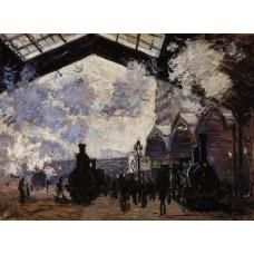 The Saint Lazare Station 1