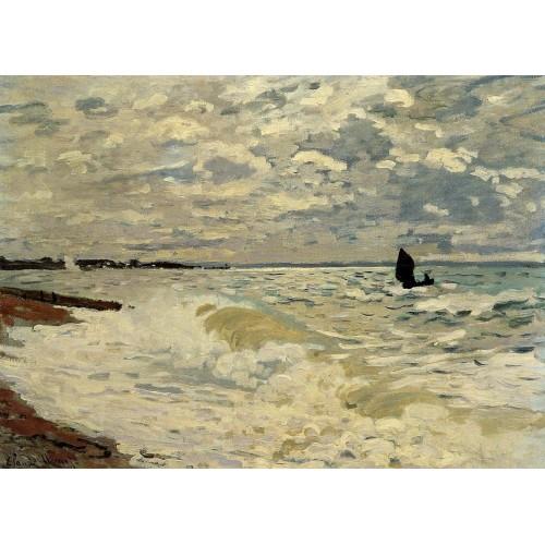 The Sea at Saint Adresse