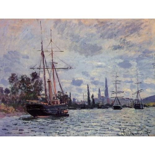 The Seine at Rouen 2