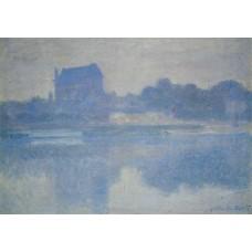Vernon Church in the Fog