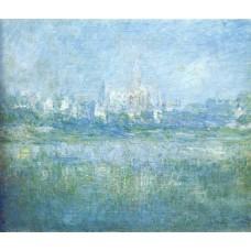 Vetheuil in the fog 2