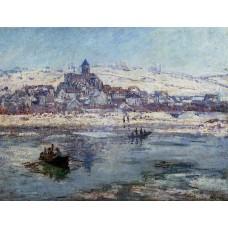 Vetheuil in Winter