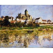 Vetheuil the church 1