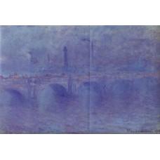 Waterloo Bridge Fog Effect