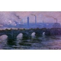 Waterloo Bridge Overcast Weather 2
