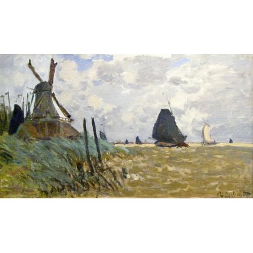Windmill near zaandam