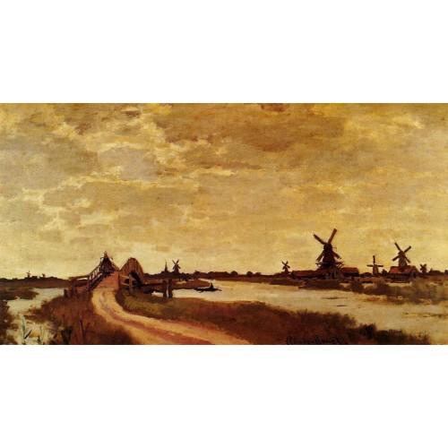 Windmills at Haaldersbroek Zaandam