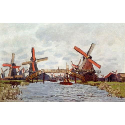 Windmills near zaandam 2