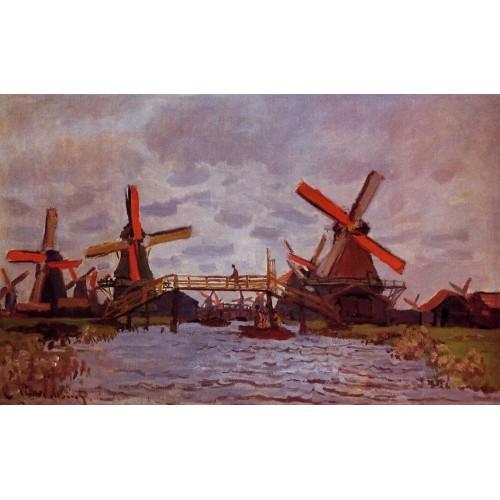 Windmills near Zaandam