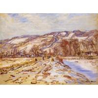 Winter at Giverny