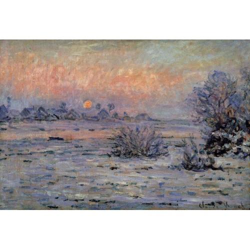 Winter Sun Lavacourt
