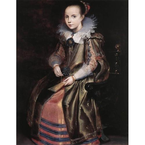 Elisabeth (or Cornelia) Vekemans as a Young Girl