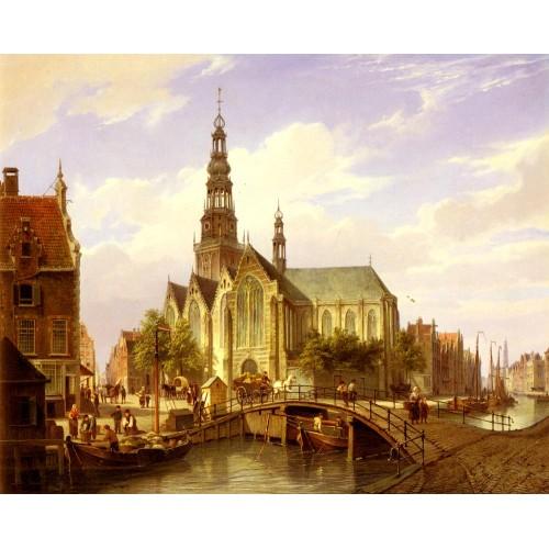 A Capriccio View Of Amsterdam