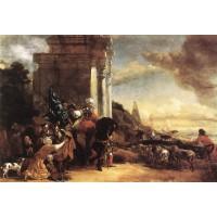 Departure of an Oriental Entourage