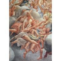 Assumption of the Virgin angelic musicians