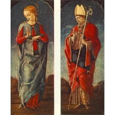 Virgin Announced and St Maurelio