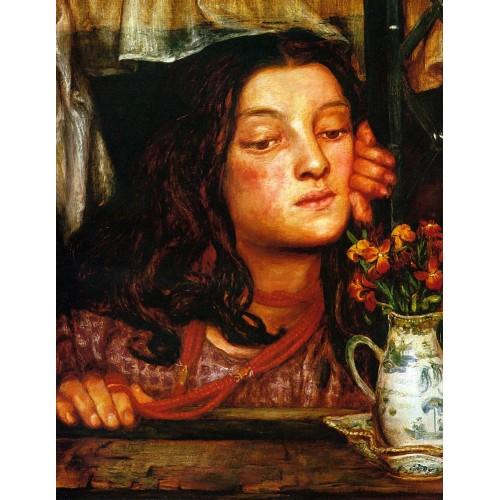 Girl at a Lattice